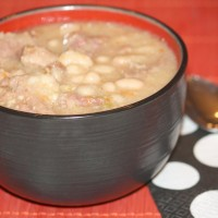 Ham & Great Northern Bean Soup Recipe